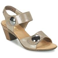 Topánky Ženy Sandále Rieker GERITEDO šedá