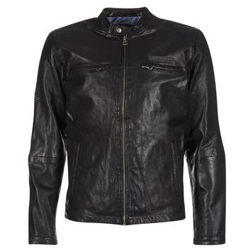 Oblečenie Muži Kožené bundy a syntetické bundy Pepe jeans LENNON čierna