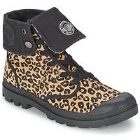 Topánky Ženy Polokozačky Palladium BAGGY PN Leopard
