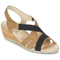 Topánky Ženy Sandále Rondinaud COLAGNE Béžová / Čierna