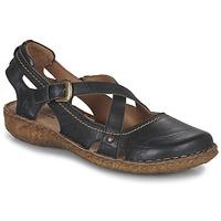 Topánky Ženy Sandále Josef Seibel ROSALIE 13 Čierna