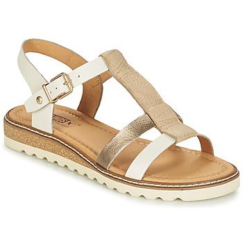 Topánky Ženy Sandále Pikolinos ALCUDIA W1L Strieborná