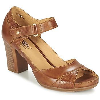 Topánky Ženy Sandále Pikolinos JAVA W0K Hnedá
