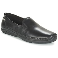 Topánky Muži Mokasíny Pikolinos AZORES 06H Čierna