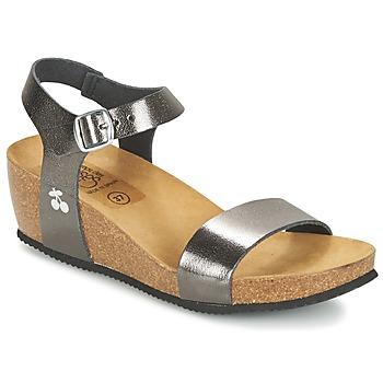 Topánky Ženy Sandále Le Temps des Cerises ASTRID šedá