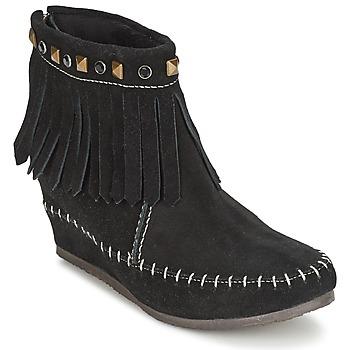 Topánky Ženy Polokozačky Les Tropéziennes par M Belarbi BOLIVIE čierna
