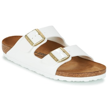 Topánky Ženy Šľapky Birkenstock ARIZONA Biela