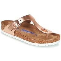 Topánky Ženy Žabky Birkenstock GIZEH SFB Bronzová