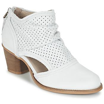 Topánky Ženy Čižmičky Dkode BAHAL Biela