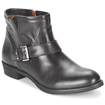 Topánky Ženy Polokozačky Marc O'Polo ALICE čierna