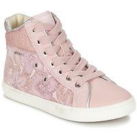 Topánky Dievčatá Členkové tenisky Geox J KIWI G. H Ružová