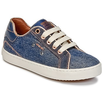 Topánky Dievčatá Členkové tenisky Geox J KIWI G. B Denim