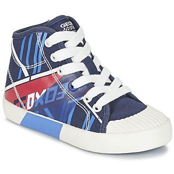 Topánky Chlapci Členkové tenisky Geox J KIWI B. E Námornícka modrá