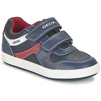 Topánky Chlapci Nízke tenisky Geox J VITA A Námornícka modrá / červená