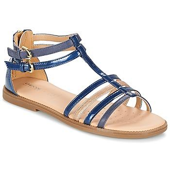 Topánky Dievčatá Sandále Geox J S.KARLY G. D Námornícka modrá