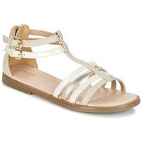 Topánky Dievčatá Sandále Geox J S.KARLY G. D Béžová
