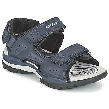 Topánky Chlapci Športové sandále Geox J BOREALIS B. B Námornícka modrá