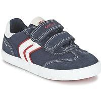 Topánky Chlapci Nízke tenisky Geox J KIWI B. M Námornícka modrá / červená