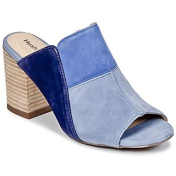 Topánky Ženy Šľapky Hush puppies SAYER Modrá