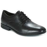 Topánky Muži Derbie Rockport SC PLAIN TOE čierna