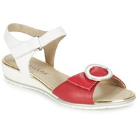 Topánky Ženy Sandále Pitillos MERVA Biela / Červená