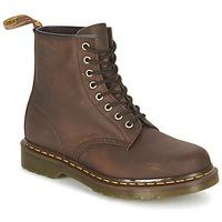 Topánky Polokozačky Dr Martens 1460 Hnedá / Dark