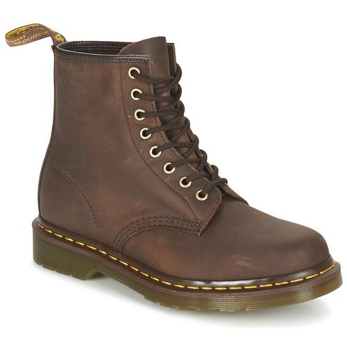 Topánky Polokozačky Dr Martens 1460 Hnedá
