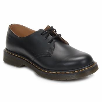 Topánky Derbie Dr Martens 1461 SMOOTH Čierna