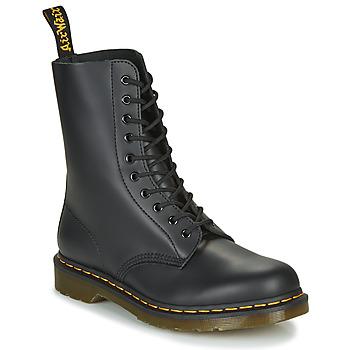 Topánky Polokozačky Dr Martens 1490 Čierna