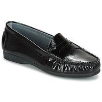 Topánky Ženy Mokasíny Arcus DAME čierna
