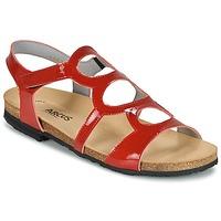 Topánky Ženy Sandále Arcus BERNER červená
