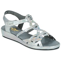 Topánky Ženy Sandále Arcus SALON Strieborná