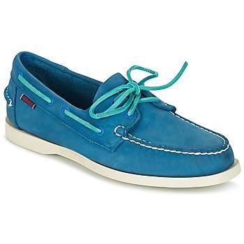 Topánky Muži Námornícke mokasíny Sebago DOCKSIDES Modrá