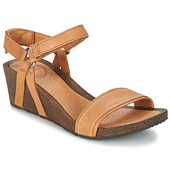 Topánky Ženy Sandále Teva YSIDRO STITCH WEDGE Koňaková