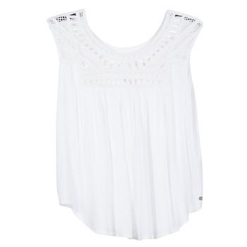 Oblečenie Ženy Tielka a tričká bez rukávov Rip Curl AMOROSA TOP Biela