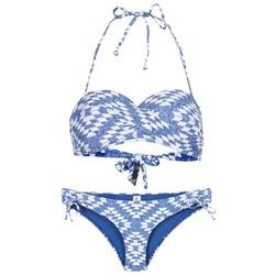 Oblečenie Ženy Plavky dvojdielne Rip Curl DEL SOL BANDEAU SET Modrá