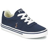 Topánky Chlapci Nízke tenisky Ralph Lauren HANFORD Námornícka modrá