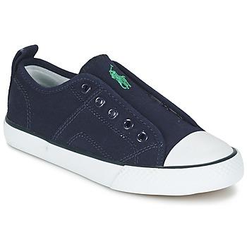 Topánky Chlapci Nízke tenisky Ralph Lauren RYLAND Námornícka modrá