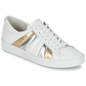 Topánky Ženy Nízke tenisky MICHAEL Michael Kors CONRAD SNEAKER Biela / Zlatá / Strieborná