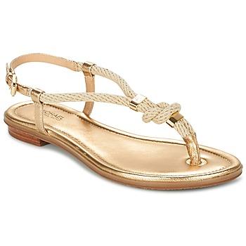 Topánky Ženy Sandále MICHAEL Michael Kors HOLLY Zlatá