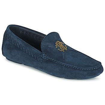 Topánky Muži Mokasíny Roberto Cavalli 2022A Modrá