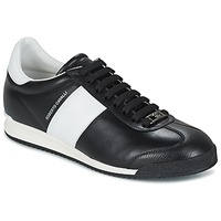Topánky Muži Nízke tenisky Roberto Cavalli 2042A čierna / Biela