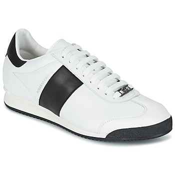 Topánky Muži Nízke tenisky Roberto Cavalli 2042C Biela / čierna