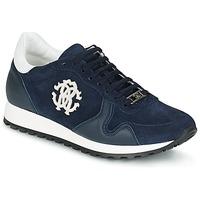 Topánky Muži Nízke tenisky Roberto Cavalli 2058A Námornícka modrá
