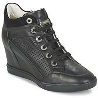 Topánky Ženy Členkové tenisky Geox ELENI C Čierna