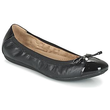 Topánky Ženy Balerínky a babies Geox D LOLA 2FIT C čierna