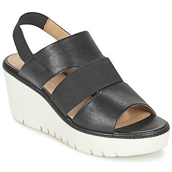 Topánky Ženy Sandále Geox D DOMEZIA B čierna