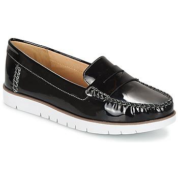 Topánky Ženy Derbie Geox D KOOKEAN F čierna