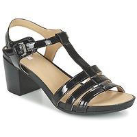 Topánky Ženy Sandále Geox D SYMI C čierna