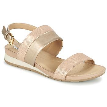 Topánky Ženy Sandále Geox D FORMOSA C Ružová / Zlatá